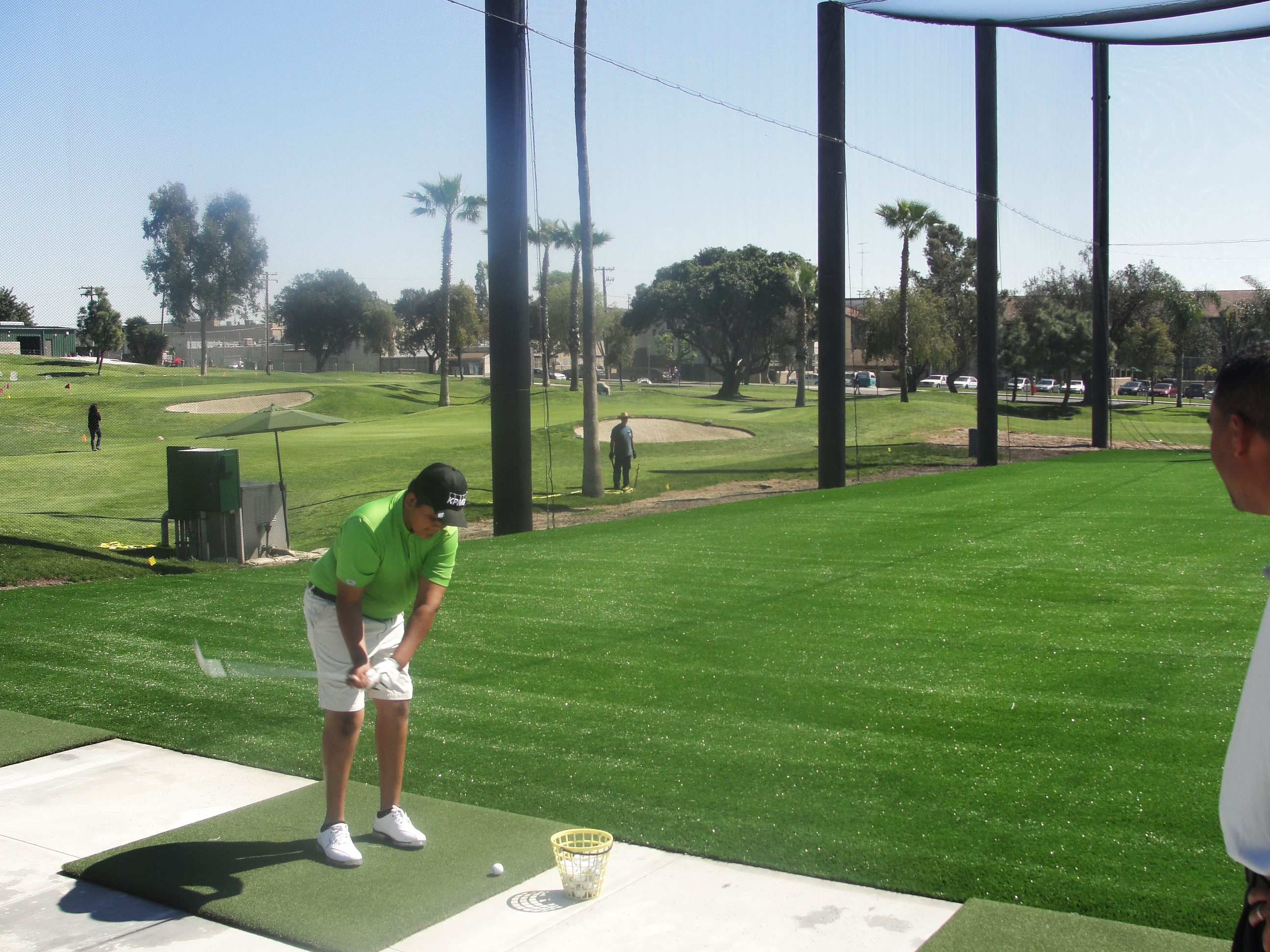 New Synthetic Turf Field Creates More Golf Amp Recreation