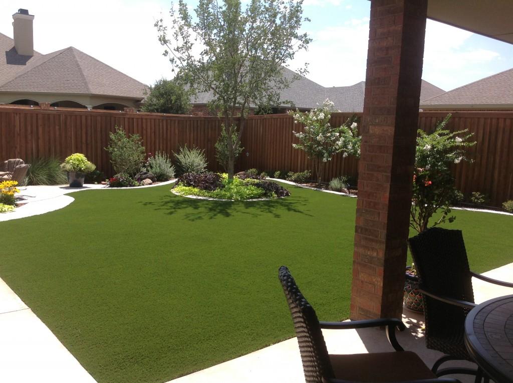 Clark's backyard | Greener Grass, Even in a Drought | STI