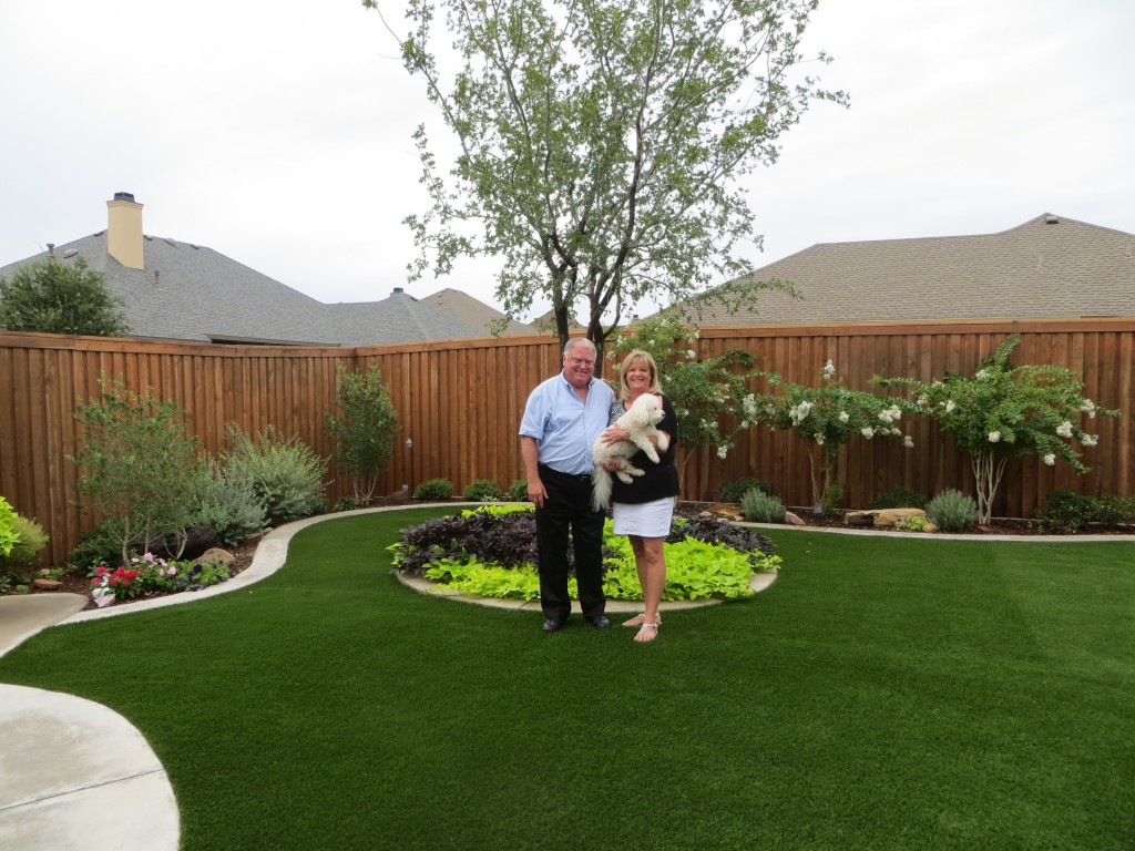 The Clark's backyard | Greener Grass, Even in a Drought
