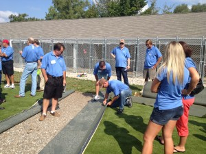 Synthetic Turf Cutting and Seaming