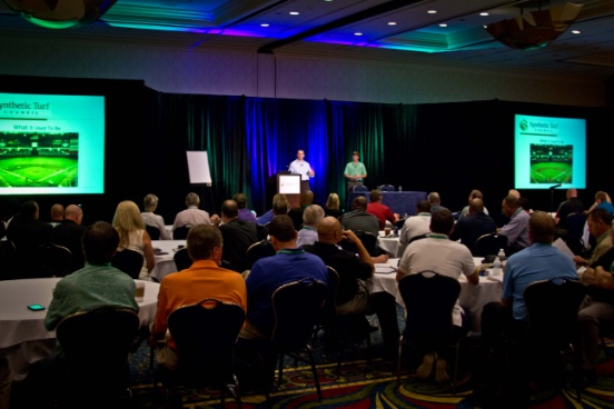 Synthetic Turf International STC Conference Whistle Stop Seminar Presentation