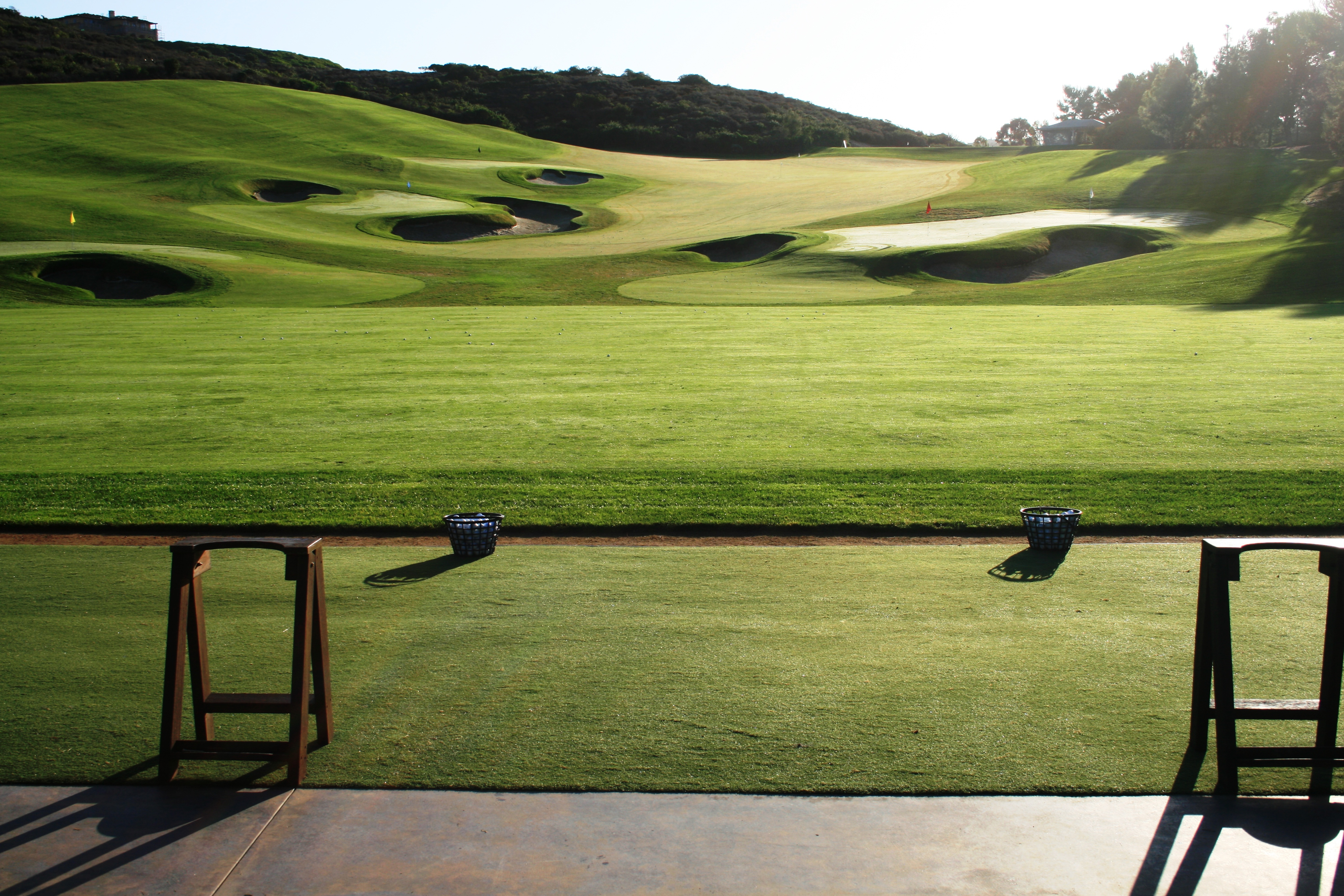 Pelican Hill Synthetic Turf International EZTee Synthetic Driving Range Tee Line